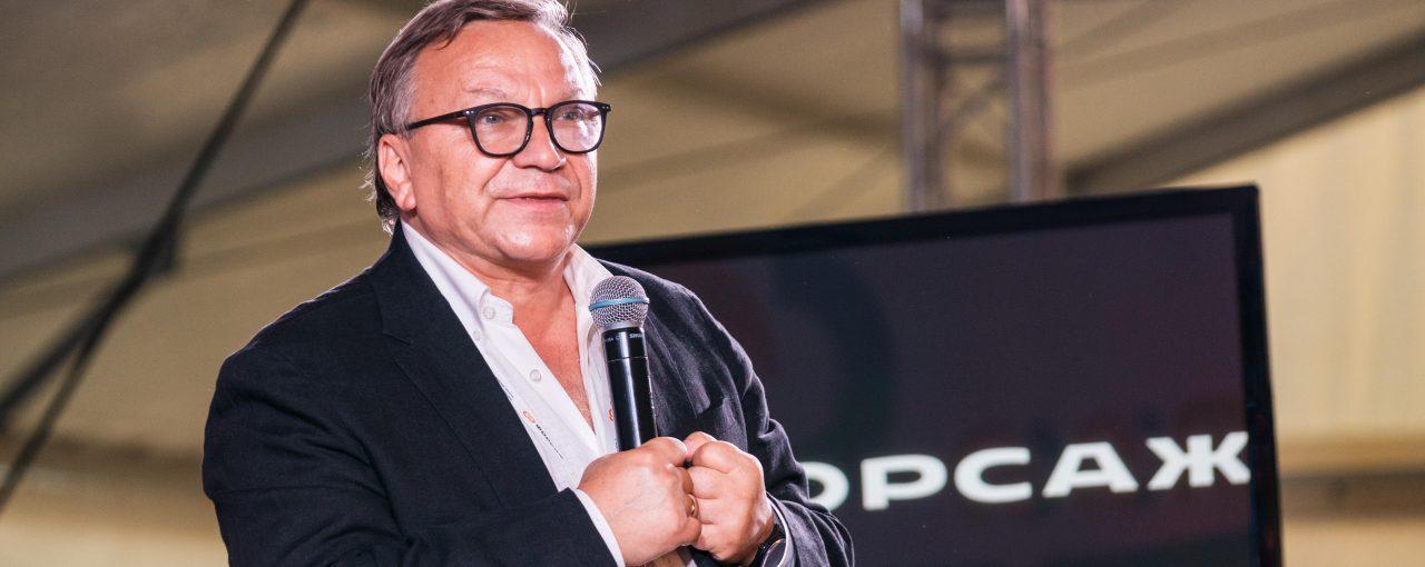 Игорь Угольников рассказал участникам форума «Форсаж» об эволюции смыслов и своём новом кинопроекте